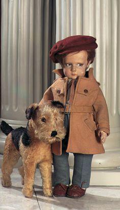 . Italian Cloth Character Boy by Lenci