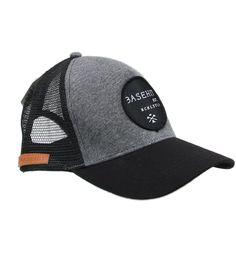 Basehit καπέλο Black Grey 1 Trucker - Bodyman.gr