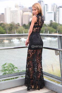 Lace Goddess Maxi Dress