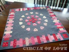 Want it, Need it, Quilt!: Simply Charmed Blog Hop - Circle of Love