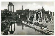 Italy 1930s Real Photo Postcard Roma Rome Foro Romano