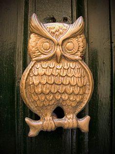 Door Knocker (Owl Type), Malta | Flickr - Photo Sharing!