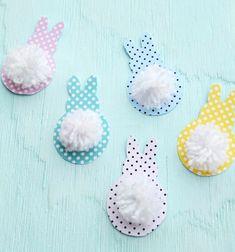 DIY mouse corner bookmark- easy paper craft for kids Paper Flower Wreaths, Flower Crafts, Preemie Crochet, Free Crochet, Bunny Crafts, Easter Crafts, Easter Decor, Spring Crafts For Kids, Art For Kids