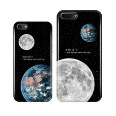 Universal Earth Moon Phone Case for Apple iPhone 7 case Starphone Case iPhone 7plus 6s 6 6plus All-in-One IMD Phone Soft Shell