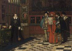 Mary Stuart, Queen of Scots, at Fotheringhay Castle by Albrecht De Vriendt Maria Stuart, House Of Stuart, Castle Painting, Oil Painting Reproductions, Large Art, New Artists, Your Paintings, Lovers Art, Art For Sale