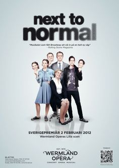 NEXT TO NORMAL in Karlstad (Sweden)