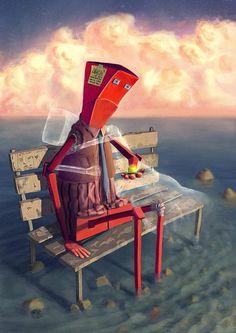 + Ilustração :   Bom dia!! Vamos começar o dia acompanhando a excelente arte de Marco Piunti.