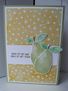 StampinClubNederland - Stampin Up! producten en workshops : Stampin' Up! Fresh Fruit - Je weet wel waarom