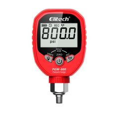 Elitech wireless digital pressure gauge for hvac refirgerant air conditioning system with settable high/low pressure alarm, you can receive remote notifications when readings move beyond predetermined value. Digital Pressure Gauge, Hvac Tools, Data Logger, Battery Indicator, Alkaline Battery, Air Conditioning System, Gauges, The Unit, Life