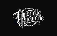 Handlettered Logotypes 3 on Behance