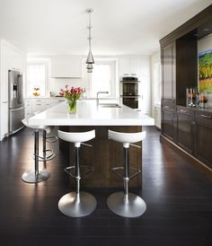 Kitchen Helpful Tips For Contemporary Interior Design bathroom Contemporary Interior Design, Bathroom Interior Design, Kitchen Interior, Kitchen Decor, Kitchen Contemporary, Kitchen Ideas, Kitchen Storage, Floating Kitchen Island, Kitchen Island Table