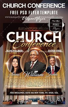 Free Church Flyer Templates Photoshop 34 Free Psd Church Flyer Templates In Psd for Special Free Psd Flyer Templates, Flyer Free, Event Flyer Templates, Program Template, Brochure Template, Pastor Anniversary, Church Graphic Design, Design Ideas, Layout Design