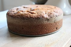 """Herman friendship cake.   I remember my mother making this when I was young. I was always intrigued by the idea that you had to """"feed"""" it several days before baking it."""