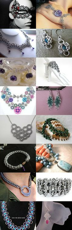 Gorgeous Chainmaille Finds by Heidi Vickery-Uechi on Etsy--Pinned with TreasuryPin.com