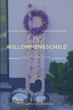 DIY Willkommensschild Frame, German, Home Decor, Simple Diy, Decorations, Picture Frame, Deutsch, Decoration Home, German Language