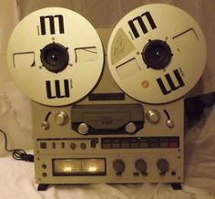 silver TEAC X10R reel to reel tape play/ by NostalgicByNature, $320.00