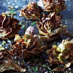 Fried Artichokes With Citrus & Parsley // More Amazing Artichoke Recipes: http://www.foodandwine.com/slideshows/artichokes #foodandwine