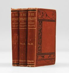 Is He Popenjoy? by Anthony Trollope (1878).