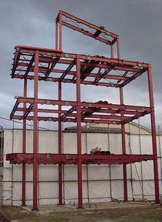 Metal Building Kits, Steel Building Homes, Building A House, Steel Frame House, Steel House, My Love Photo, Steel Structure Buildings, Casas Containers, Unique House Design