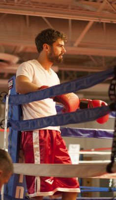 Theo James boxing