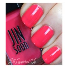 JINsoon Botanical Flowers Spring 2013 Nail Polish Swatches | All... ❤ liked on Polyvore
