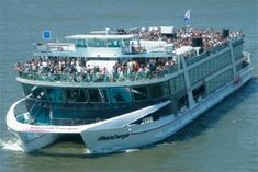 Sightseeing Cruise on the Rhine with the KD Rhine Pass.    Travel between Bonn, Cologne, Koblenz, Mainz and other Points.    The best way to see Germany's Rhine region.    A must for any visit.