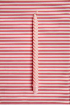 art direction | candle on stripes