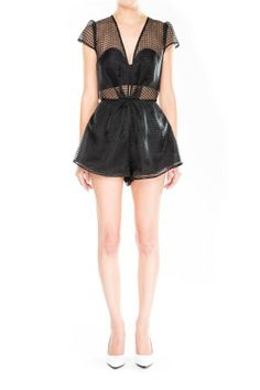 Cameo The Label | Once Too Often Romper | Black | Shop Now | BNKR |