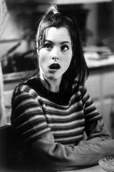 parker posey/striped.
