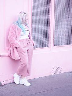 a3ef70c7d6cc Мода  Пастель наряжается в кулотеры и кроссовки Fila Disruptor 2 - Lazy Kat  Fila Outfit