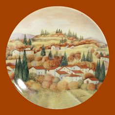 Decorative Plate | Autumn