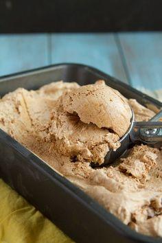 No Sugar! Ultimate Fat Bomb Ice Cream with Custom Flavors (dairy-free, nut-free, paleo, low-carb + keto) (Healthful Pursuit) Helado Keto, Keto Eis, Low Carb Desserts, Low Carb Recipes, Dessert Recipes, Cooking Recipes, Dinner Recipes, Cookbook Recipes, Salad Recipes
