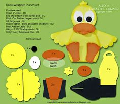 Alex's Creative Corner: Spring Duck Curvy Keepsake