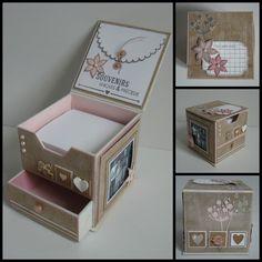 Je vous ai concocté un petit tuto sur le blog de variations créatives pour réaliser une boite en cartonnage. N'hésitez pas à aller le découvrir et me dire ce que vous en pensez.Un cube de 10 cm de côté qui trouveras très certainement sa place sur votre... Cardboard Box Crafts, 3d Paper Crafts, Vinyl Crafts, Diy And Crafts, Diy Gift Box, Diy Gifts, Cardboard Wardrobe, Post It Holder, Cadeau Surprise