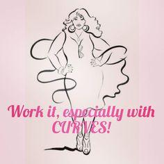 Work it Tuesday!  #plussize #confidence #love #inspiration #motivation #goals #life