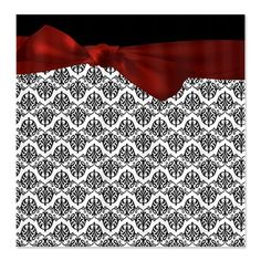 Decorative Damask Shower Curtain