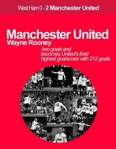 Wayne Rooney become a Legend in Manchester United