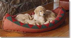 Canoe Dog Bed