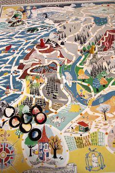 Moomin map game