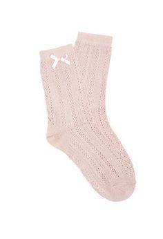Pointelle Crew Socks | Forever 21 - 2052287988
