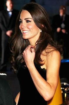 "Our birds who are Classic Women adore Princess Catherine's style. ""For London's A Night of Heroes awards show, #KateMiddleton kept her chestnut brown strands in a down 'do with slight curls at the end. http://news.instyle.com/photo-gallery/?postgallery=91034#2"