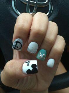 Disney nails.