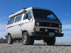 Image may have been reduced in size. Click image to view fullscreen. Volkswagen Westfalia, Vw Vanagon, T6 California Beach, T3 Bus, Transporter T3, Cool Campers, Vw T, Motor Homes, Bus Camper