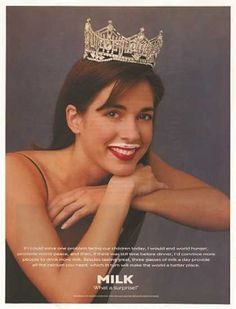 Miss America Heather Whitestone -got milk?