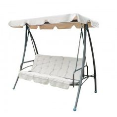 Balancin cama beige 201x123x178cm.