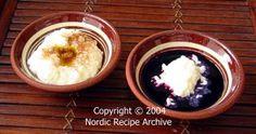 Finnish Christmas Rice Pudding