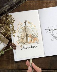 Discover over 40 bullet journal monthly cover ideas and plan your bullet journal monthly theme ahead. Here I gathered the best cover pages for a whole year. Bullet Journal Pdf, Bullet Journal Spread, Blank Journal, Bullet Journals, Bullet Journal November Layout, Autumn Bullet Journal, Printable Planner, Planner Stickers, Free Planner
