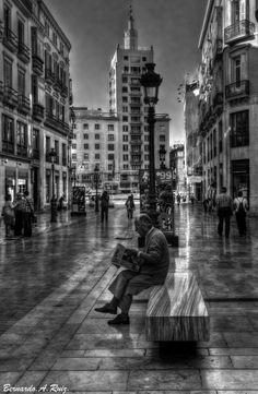Calle Larios, foto de Bernardo A. Ruiz #Málaga pic.twitter.com/jkOkSf9HqD  Vía @OrgullodeMalaga