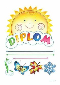 Diplom Crafts For Kids To Make, Diy And Crafts, Preschool Portfolio, Schedule Cards, Powerpoint Background Design, School Decorations, Butterfly Art, Kids Events, Classroom Decor