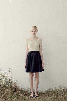Betina Lou S/S 2013 #retro knit top #fashion #apparel